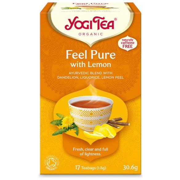Yogi Tea® Tisztító (méregtelenítő) bio tea citrommal és gyermekláncfűvel