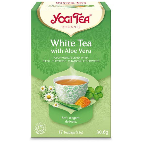 Yogi Tea® Bio Fehér tea aloe verával