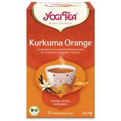 Yogi Tea® Kurkuma narancs bio tea