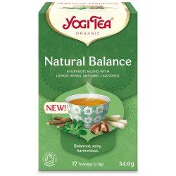 Yogi Tea® Természetes egyensúly bio tea shiitake gombával