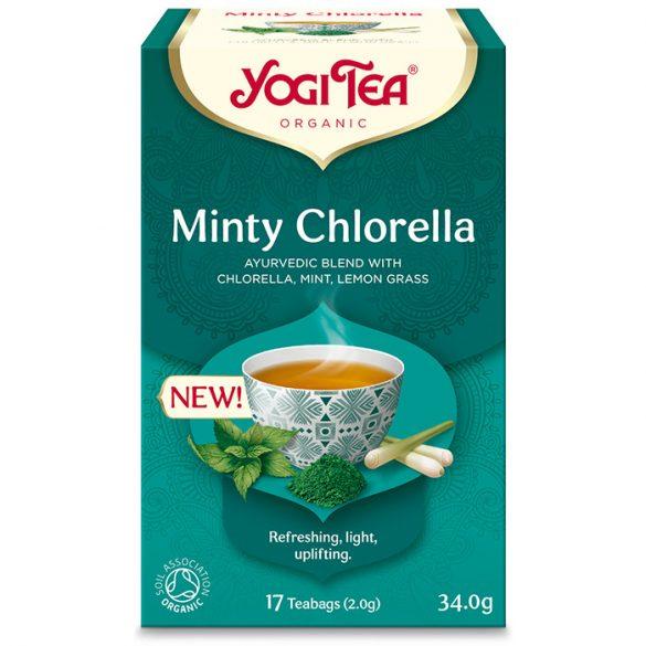 Yogi Tea® Mentás bio tea chlorella algával