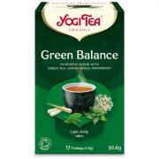 Yogi Tea® Zöld egyensúly bio tea (szépséghibás)