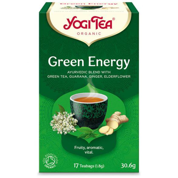 Yogi Tea® Energizáló bio zöld tea (szépséghibás)