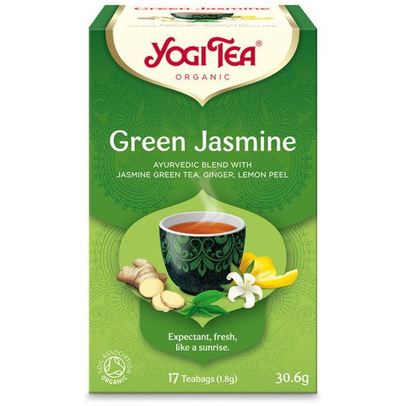 Yogi Tea® Zöld jázmin tea