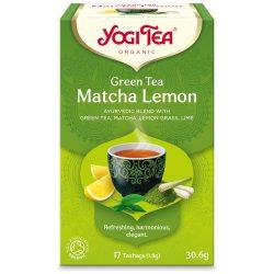 Yogi Tea® Bio Zöld tea matchával és citrommal