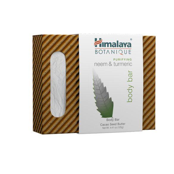 Himalaya Botanique Növényi szappan nimmel és kurkumával 125g (közeli lejáratos)