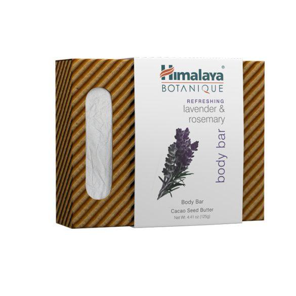 Himalaya Botanique Növényi szappan levendulával és rozmaringgal 125g (közeli lejáratos)