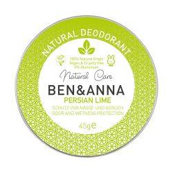 Ben&Anna Persian Lime natúr tégelyes krémdezodor 45g