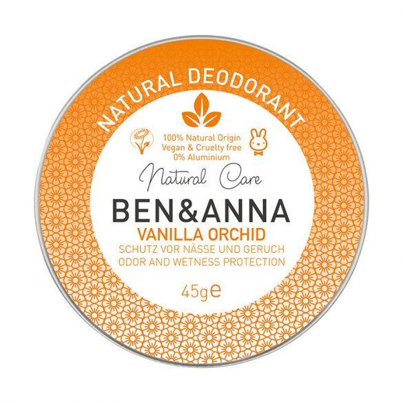 Ben&Anna Vanilla Orchid natúr tégelyes krémdezodor 45g