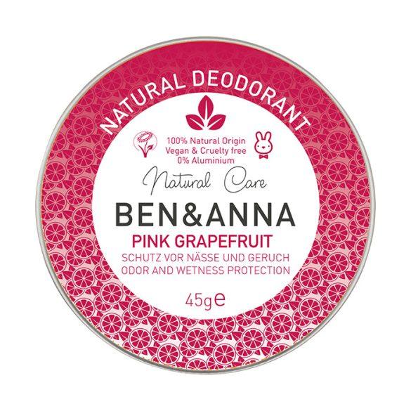 Ben&Anna Pink Grapefruit natúr tégelyes krémdezodor 45g