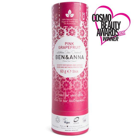 Ben&Anna Pink Grapefruit natúr deo stift 60g