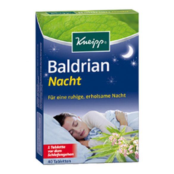 Kneipp Valeriana nyugodt éjszaka tabletta 40db