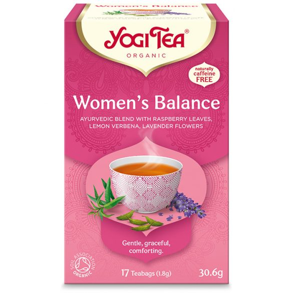Yogi Tea® Női bio tea csomag ( 3 doboz )