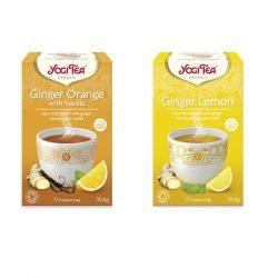 Yogi Tea® Gyömbéres bio tea csomag ( 2 doboz )