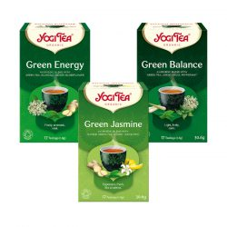 Yogi Tea® Bio zöld tea csomag ( 3 doboz )