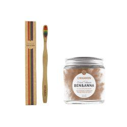 Ben&Anna Fahéjas fogpor csomag