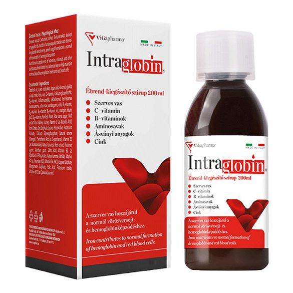 Intraglobin® szerves vasat tartalmazó étrend-kiegészítő szirup 200ml