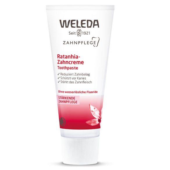 Weleda Ratanhia gyógynövényes fogkrém 75ml