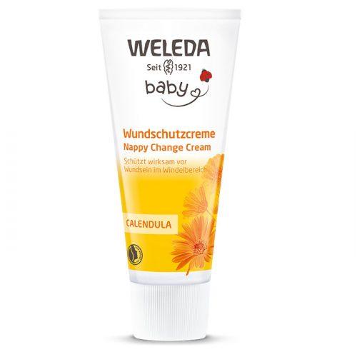 Weleda Bio körömvirágos pelenkakiütés elleni natúr popsikrém 75ml