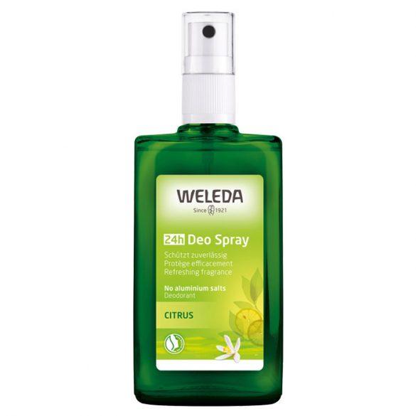 Weleda Citrus frissítő pumpás dezodor 24h, 100ml