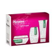 Himalaya Szett Intenzív bőrápoló krém 50 ml+Öregedésgátló kézkrém 50 ml+Mandulás szappan 75 g