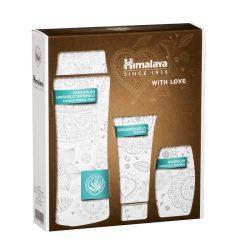 Himalaya Szett Kakaóvajas testápoló 200ml + Öregedésgátló kézkrém 50ml + Mandulás szappan 75g